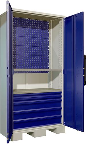 Тяжелые инструментальные шкафы AMH TC и комплектующие